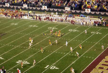 trojans: Trojan quarterback sets to throw during the Emerald Bowl 2009: Trojans 24 vs. Boston College 13, Saturday, December 27, San Francisco, California.