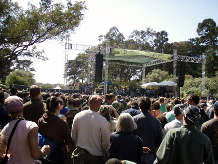 SAN FRANCISCO, CA APRIL 22: Stephen Marley featuring Junior Gong preform at The Green Apple Music & Arts Festival - the nation�s largest celebration of Earth Day in Golden Gate Park, San Francisco April 22, 2007