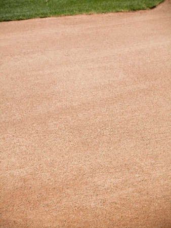 Close-up of Baseball warning track dirt area Stock Photo - 8538632
