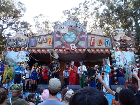 SAN FRANCISCO - SEPTEMBER 25: Mucca Pazza, a self-described