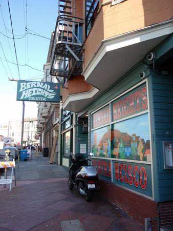 SAN FRANCISCO - OCTOBER 7: Bernal Heights Collective, medical marijuana store taken on October 7, 2010 in San Francisco