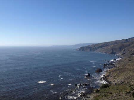 ロッキー マリン海岸線とカリフォルニア州の太平洋。