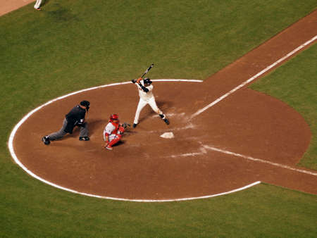 ruiz: SAN FRANCISCO, CA - OCTOBER 20: Giants batter Edgar Renteria stands in batters box with Carlos Ruiz catching and umpire behind him during game 4 of the NLCS 2010 on October 20, 2010 at AT&T Park San Francisco.