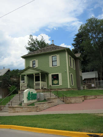 dispensary: The Green Joint Marijuana Shop in Greenwood Springs in Colorado, USA.