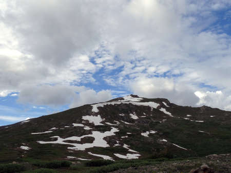 independance: Snow capped peaks on Independance Pass in Colorado, USA.