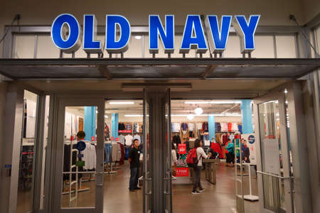 thursday: HONOLULU, HI - NOVEMBER 27: Entrance to Old Navy Store featuring big sales on Grey Thursday at the Ala Moana shopping center. taken on November 27, 2014 at Ala Moana Shopping center in Honolulu, Hawaii.
