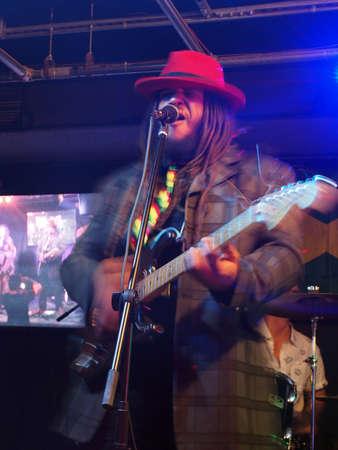 keith: HONOLULU, HI - APRIL 16: Guidance Band Keith Batlin Jams on stage at BODA Cafe on April 16 2016, Honolulu, Hawaii.