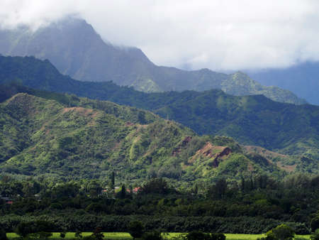 Mountains and Hanalei Valley is an enchanted site charmed with the likes of countless waterfalls, rainbows, fields of taro and hidden treasures waiting to be explored.
