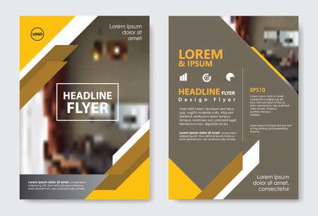 Template diagonal lines abstract design magazine brochure flyer booklet cover vector layout Banco de Imagens - 153403386