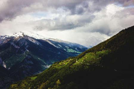 swiss alps: Sun Over Swiss Alps
