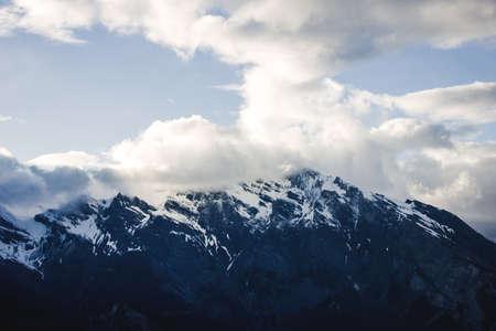 swiss alps: Mountain In Swiss Alps