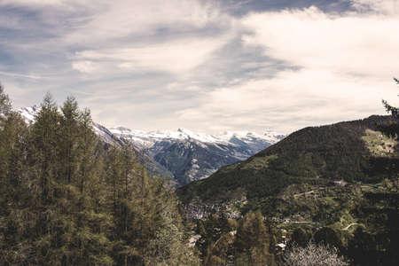 zenith: Mountain View in Swiss Alps