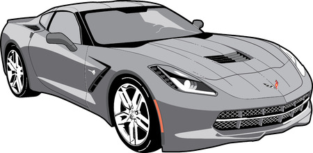 corvette: Corvette C7 Stingray