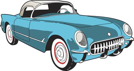 cabrio: Corvette C1 Roadster