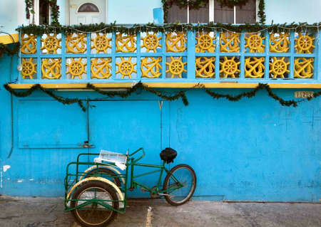 mujeres: Workmans Cart, Isla Mujeres, Mexico