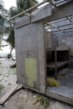 Abandoned Beach hut