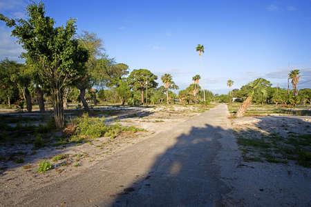 Empty Tropical Trailer Park Stock Photo - 6099820