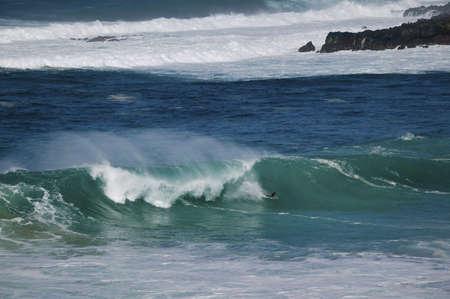 granola: North Shore acci�n de Big Wave