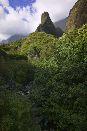 Iao Valley Grand View Stock Photo - 7056631