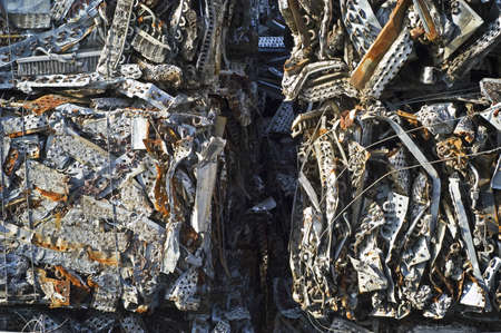 Scrap Aluminum Bales Close-Up Stock Photo - 7112776