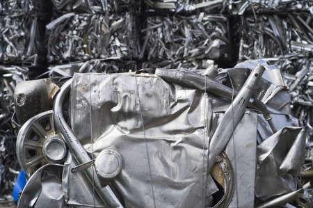 Small Scrap Aluminum Bale Stock Photo - 7112765
