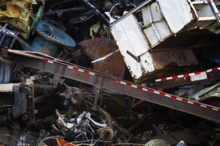 Heavy Industrial Scrap Metal for ReCycling photo