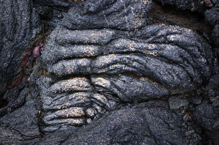 Heart-Shaped Lava Rock, Volcanoes National Park, Hawaii Stock Photo - 7814771