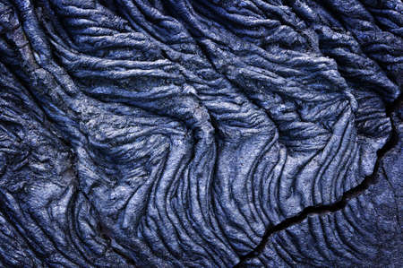 Rope Lava, Volcanoes National Park, Hawaii photo
