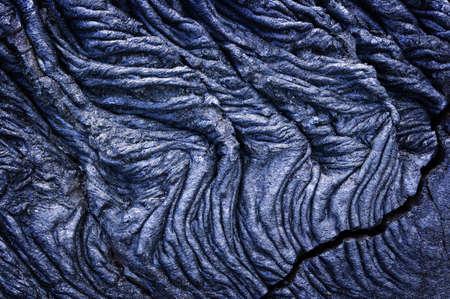 Rope Lava, Volcanoes National Park, Hawaii photo