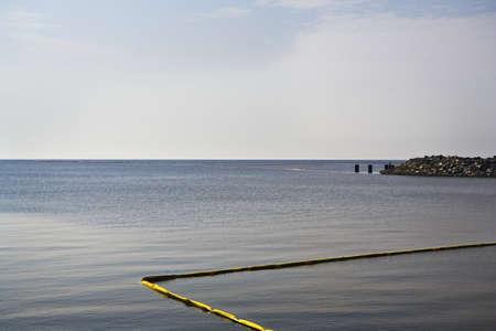 Yellow Oil Boom, Gulf Coast