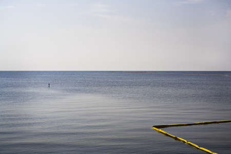 Yellow Oil Boom, Gulf Coast photo