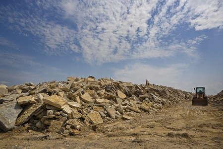 Heavy Machinery & Debris, Gulf Coast