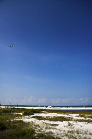 Clean-Up Crews on the Beach, Gulf Coast