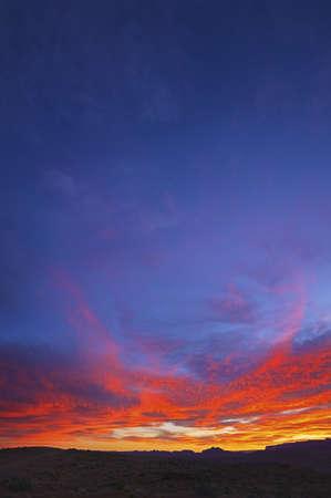 Sunrise Over Page Arizona Stock Photo - 7929142