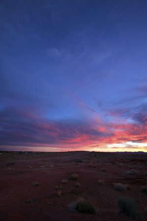 Sunrise Over Page Arizona Stock Photo - 7929143