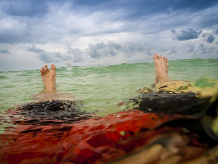 Floating in the Gulf