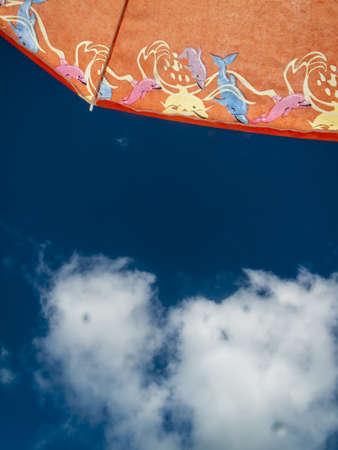 Sunny Beach Umbrella   Sky