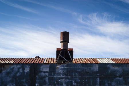 Metal Roof Vent   Sky