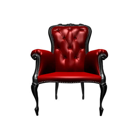 elbowchair: Red Chair Stock Photo