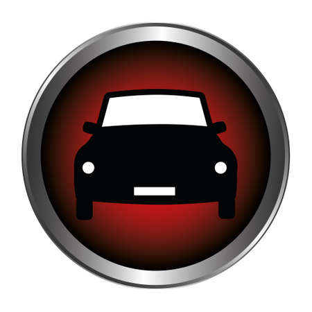 Car button red