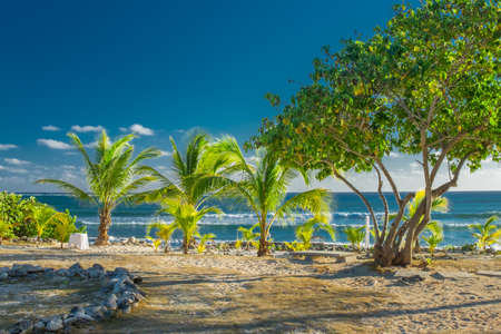 Community Beach one of the surferss spot on Grand Cayman