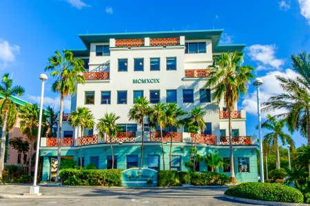 George Town, Grand Cayman, Cayman Islands, Jan 2017, Ugland House building facade Editorial