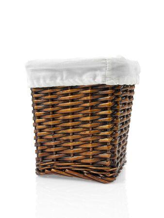 osier: Basket osier isolated on white background
