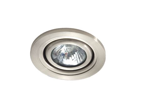 Ceiling light isolated on white background Banco de Imagens