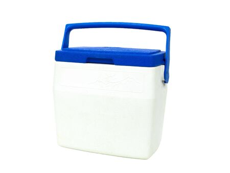 Ice chest isolated on white background