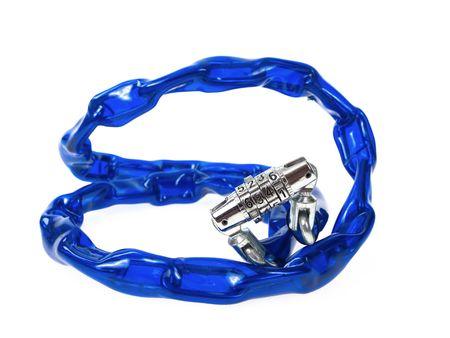 Bike chain lock photo