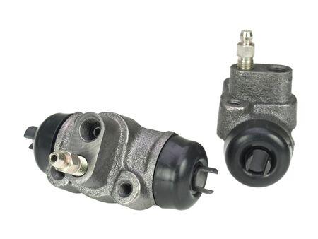 Brake cylinder isolated on white background Stock Photo