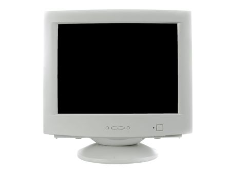 Old monitor ctr Stock Photo - 6178639