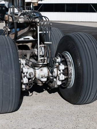 Mechanical view of landing gear
