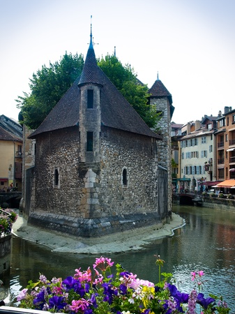 Old prision in Annecy, France